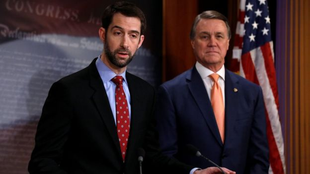 Tom Cotton David Perdue