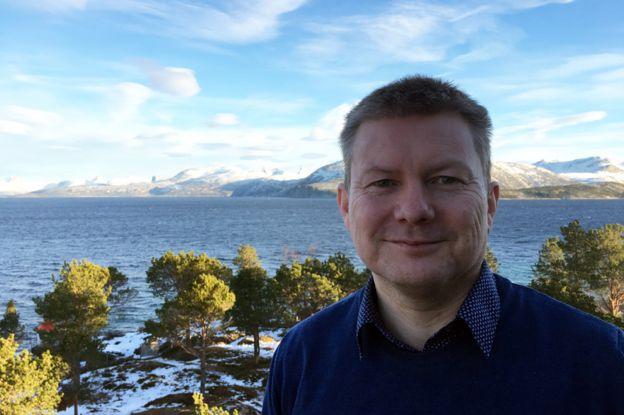 Lars Magne Andreassen, director de Arran, el centro de la comunidad Sami en Drag.