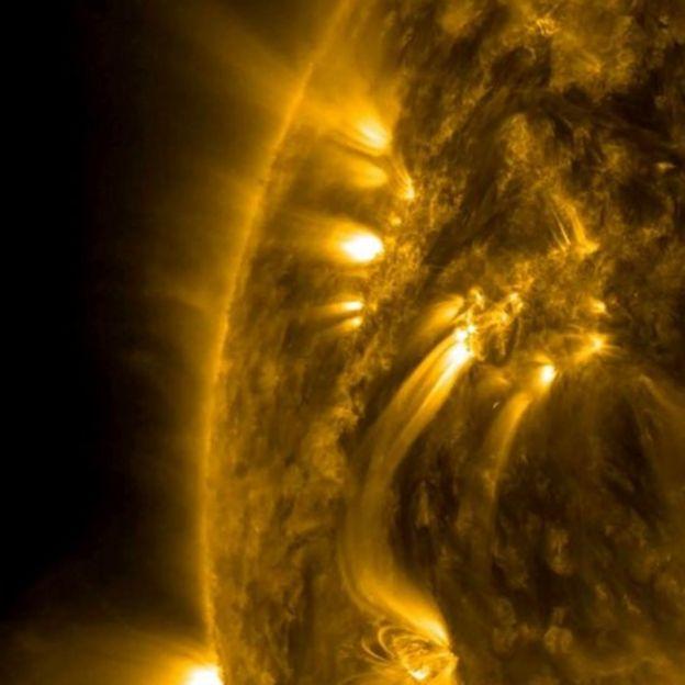 Llamaradas del Sol