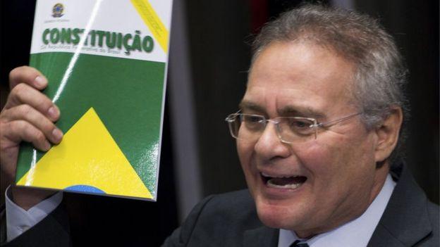 O senador Renan Calheiros