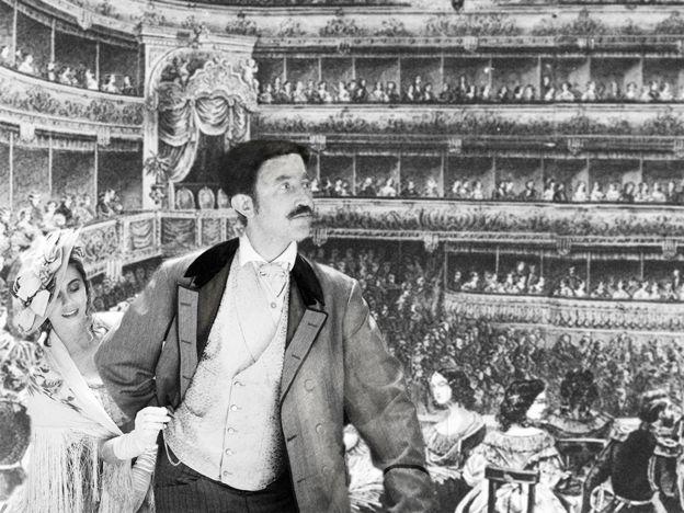 В Михайловском театре тоже происходили кражи (фантазия иллюстратора)