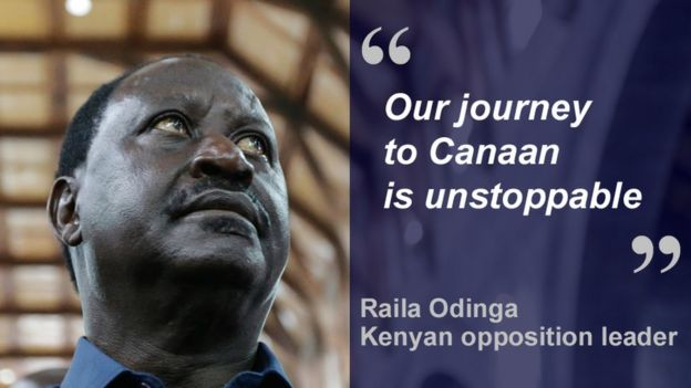Raila Odinga quote card: