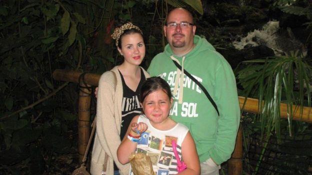 埃文斯與兩個女兒