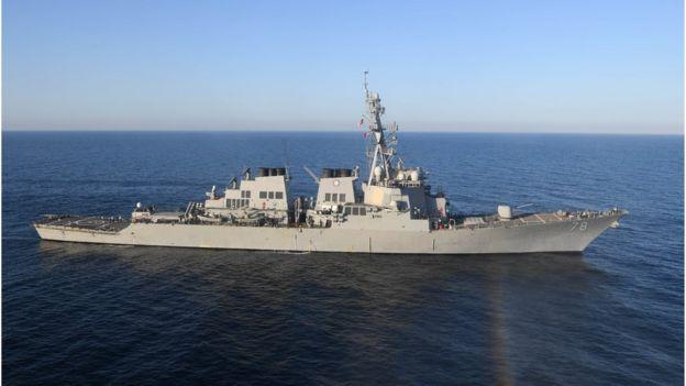 美國波特號驅逐艦