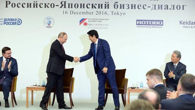 Putin y Abe