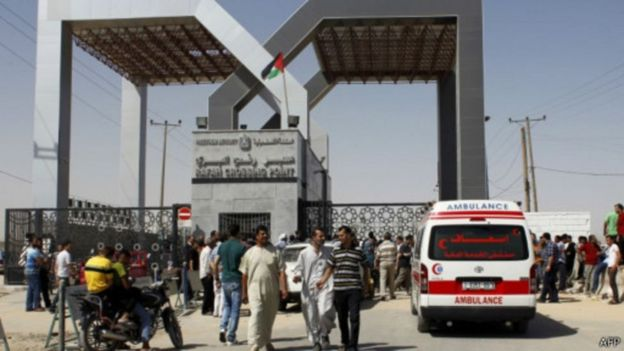 این حمله در نزدیکی گذرگاه رفح در جنوب نوار غزه اتفاق افتاده است
