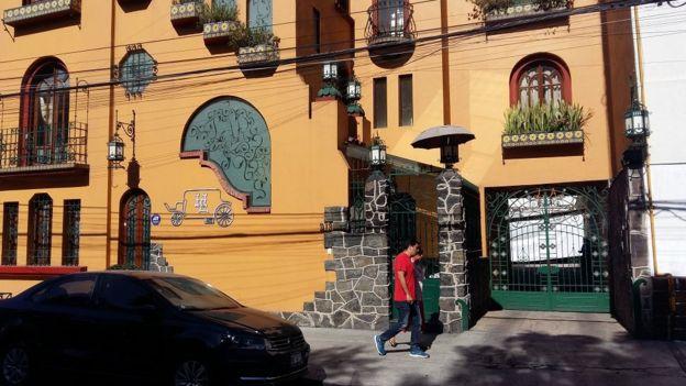 La sede de la compañía en Ciudad de México.