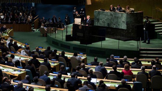 Asamblea General de la ONU en Nueva York