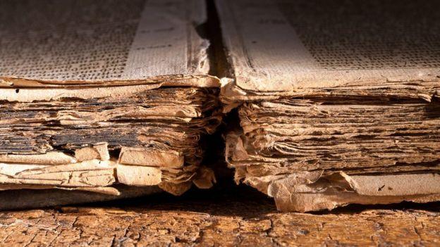 Libro antiguo.