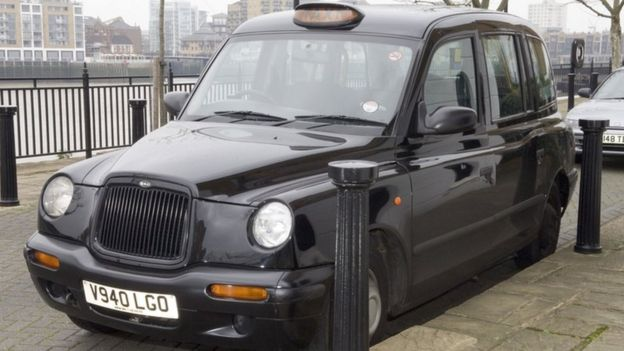 The black cab used by Worboys in his attacks