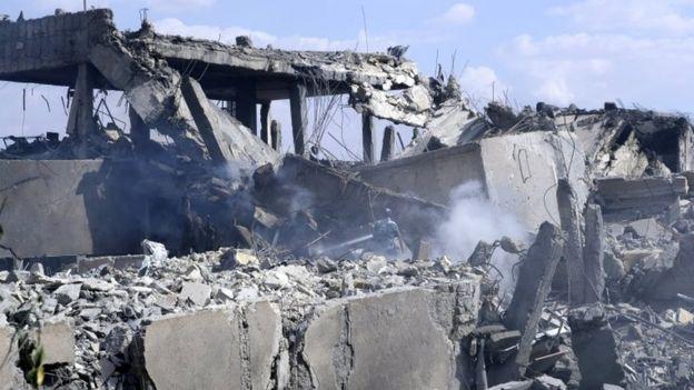 Barzeh in Syria