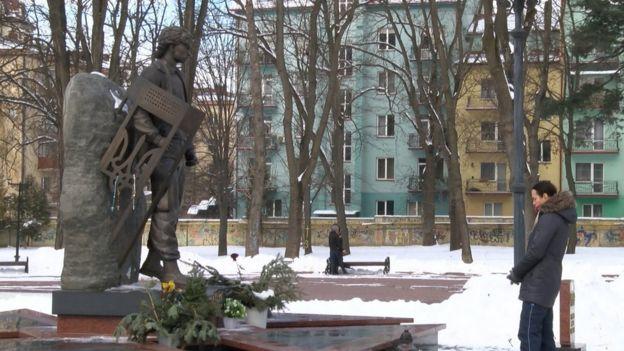 Пам'ятник Роману Гурику у Франківську