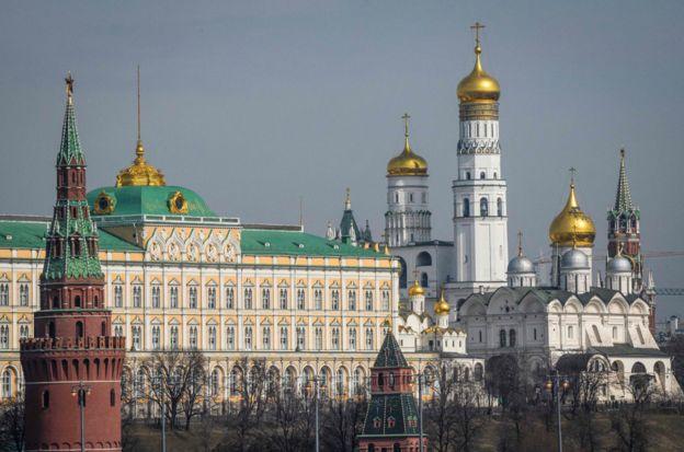 Kremlin Moscú.