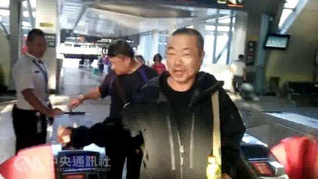 投案自稱砍斷八田與一銅像頭部的前議員李承龍是急統派政黨成員