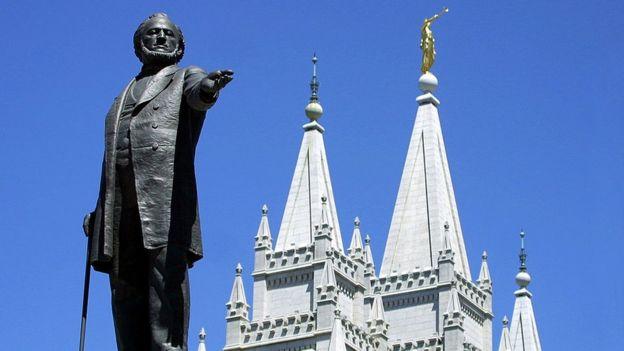 Estatua de Brigham Young