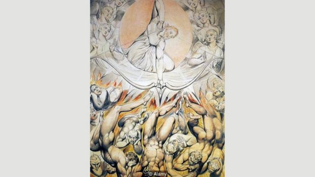 William Blake, Kayıp Cennet