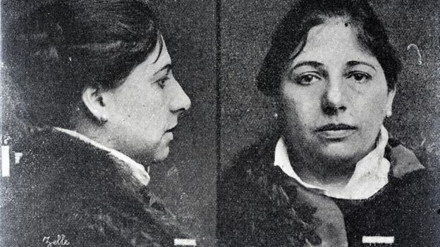 Police photo of Mata Hari