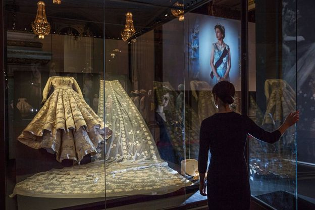 Свадебное платье Елизаветы II