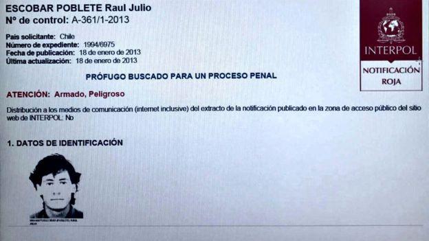 Interpol lo buscaba en 190 países, fue detenido en México. Su pareja recién fue capturada en España. (Foto: Interpol)