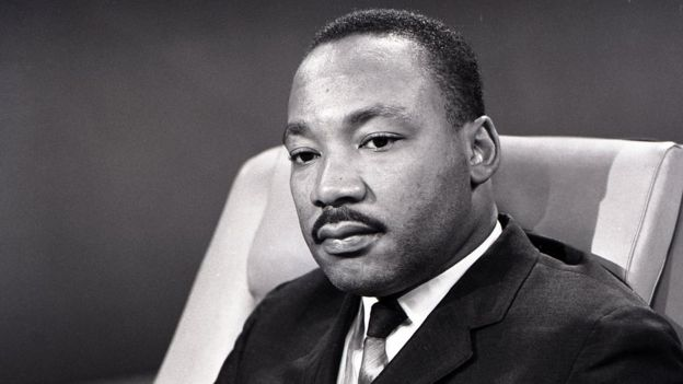 Martin Luther King em foto de 1963