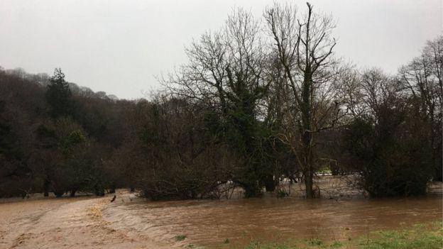 Flooding Barnstaple