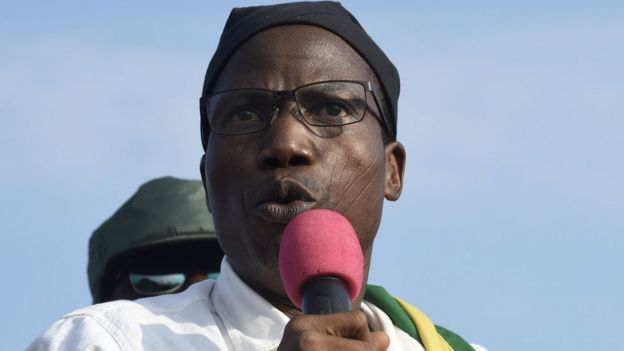 Tikpi Atchadam, leader of the National Panafrican Party (PNP)