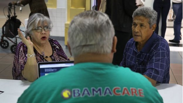 Registration in Obamacare.