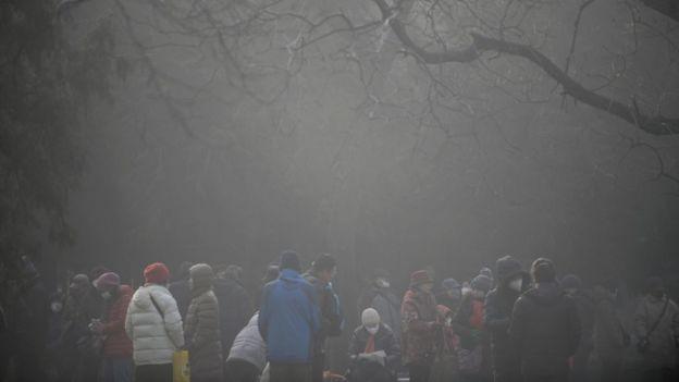 北京的霧霾