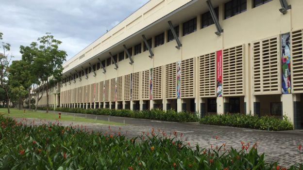 Fachada del edificio sede del Instituto Nacional de Educación
