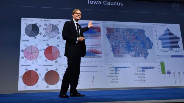 Alexander Nix, CEO de Cambridge Analytica.