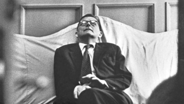Дмитрий Шостакович на премьере своей симфонии. 1962 год