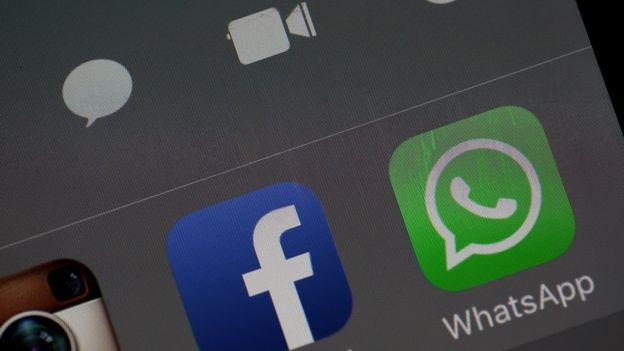 Logos de WhastApp y Facebook