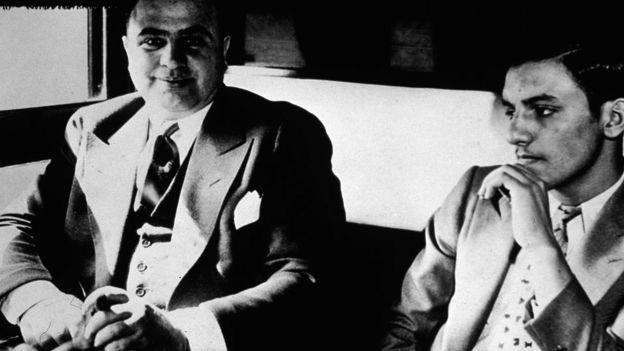 Al Capone fue condenado por evasión fiscal en 1931.  GETTY IMAGES