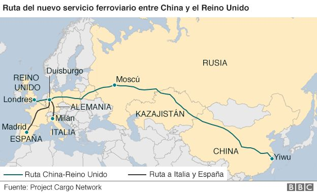 El ambicioso proyecto detrs del tren que une por primera vez