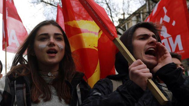 Giới trẻ Pháp biểu tình đòi việc làm