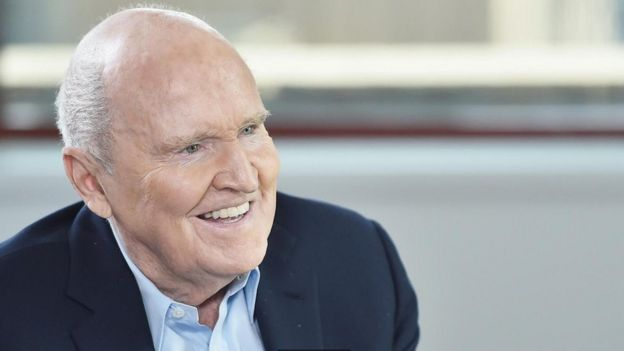 Former General Electric President Jack Welch
