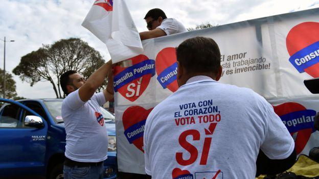 Campaña por el SÍ en Ecuador