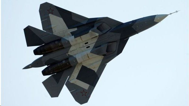 There was no confirmation that Russia's new stealth fighters have been used in combat in Syria