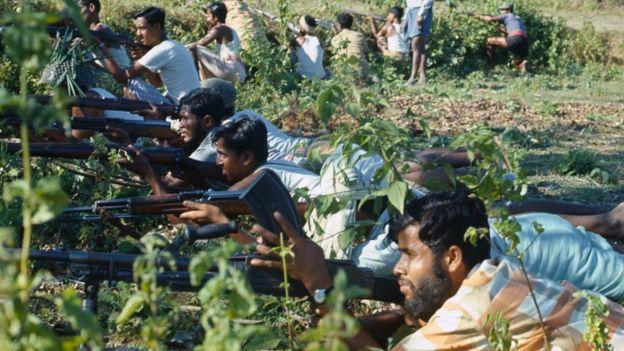 Foto tomada en Bangladesh en 1971.