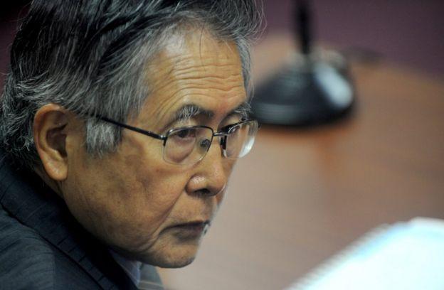 Foto de Fujimori en 2009
