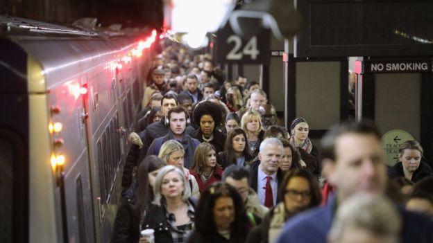 Metro de Nueva York.