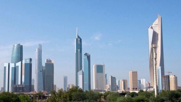 Edificios en Kuwait