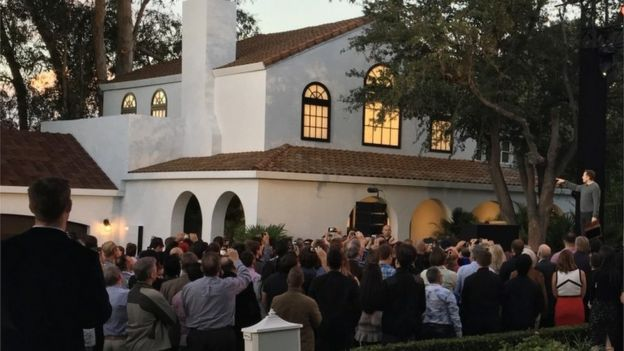 The unveiling of new solar roof tiles by Tesla, 28 October 2016