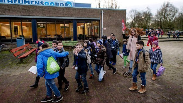 Refugees in the Netherlands