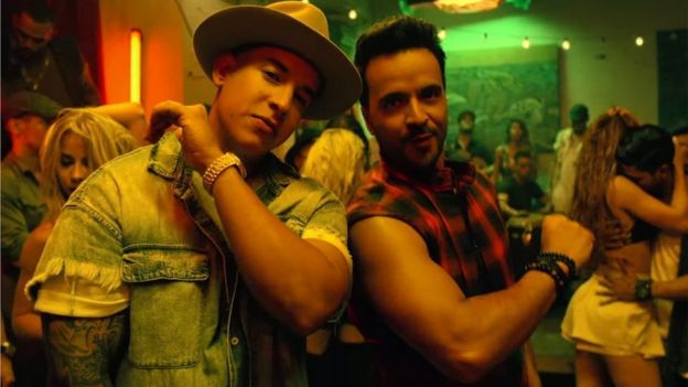 Captura de video de Despacito