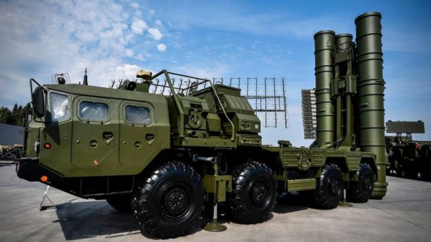 Russian anti-missile system S400.