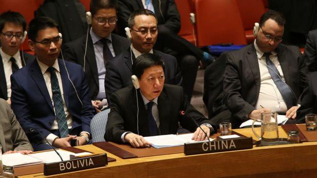 China at the UN