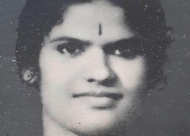 Megha Mohan's grandmother when she was young.