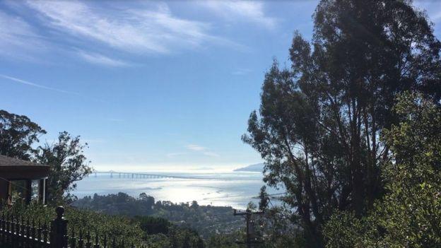 Vista desde la mansión.