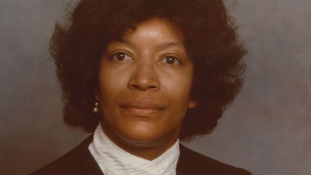 Judge Evelyn Baker in 1983